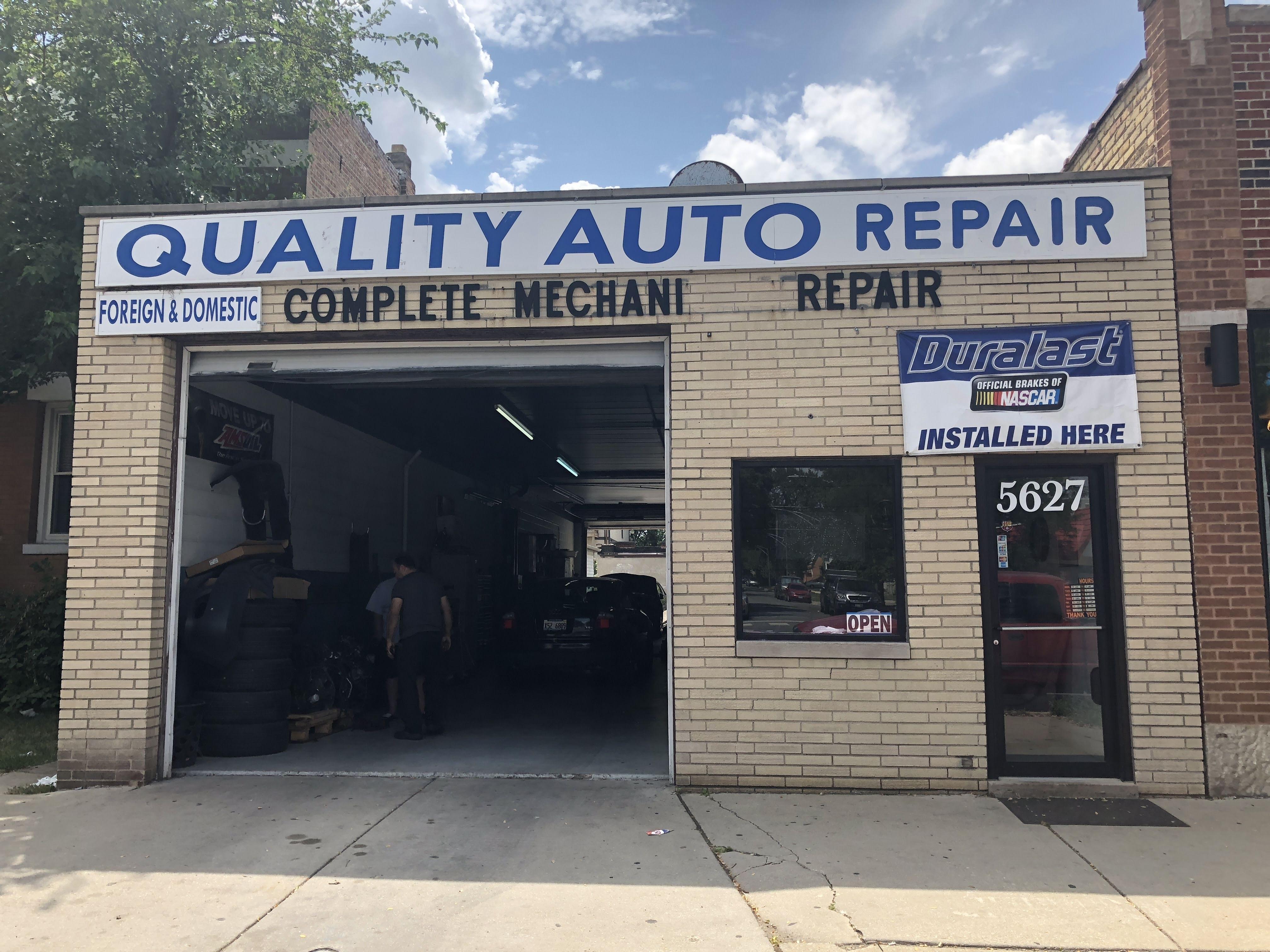 2,400 SF Auto-Repair Shop Near Irving Park & Central