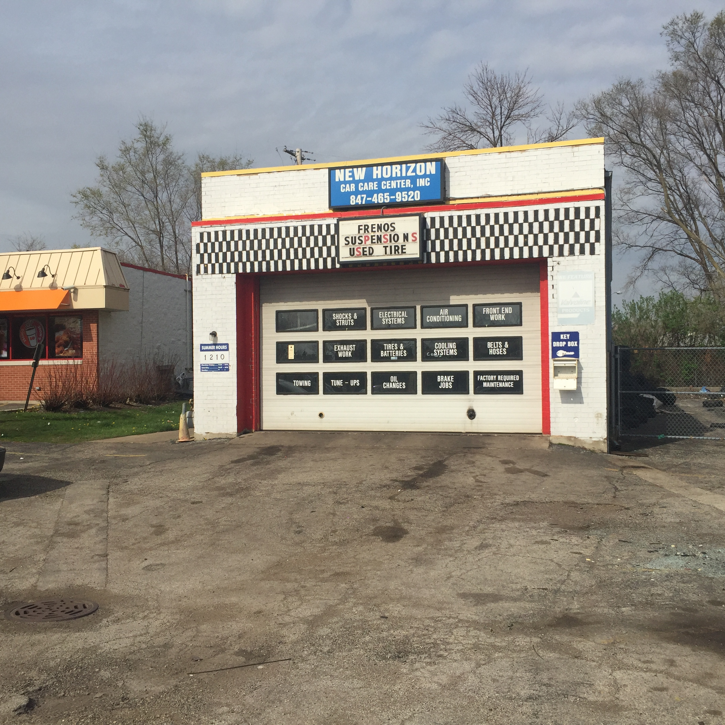2 bay auto repair shop near busy hintz road